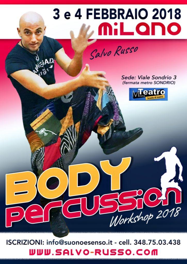 Body Percussion Corso Milano