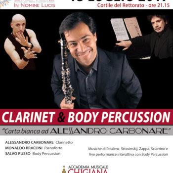 Clarinet Body Percussion