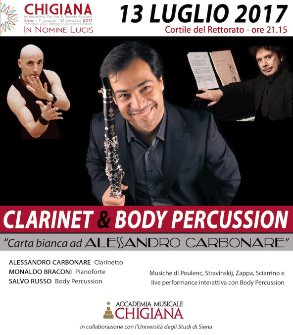 Clarinet Body Percussion