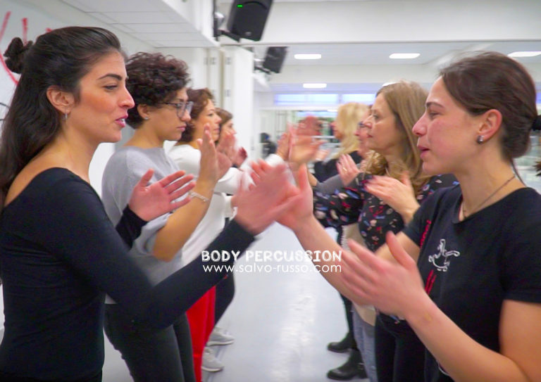 Salvo Russo Body Percussion